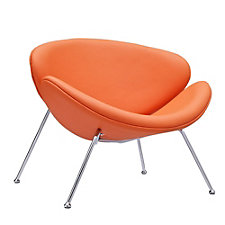 Nutshell Vinyl Modern Guest Chair, CH50563