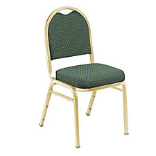 Pattern Fabric Padded Stack Chair, CH02928