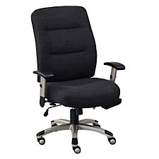 Fabric Heated Seat and Back Task Chair, CH51418