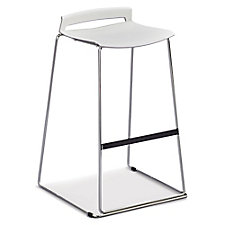 Chrome Frame Stacking Stool, CH51735