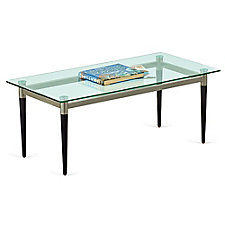 "Glass Top Coffee Table - 40""W x 20""D, CH51513"