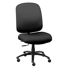 Faux Leather Big & Tall Chair, CH51363