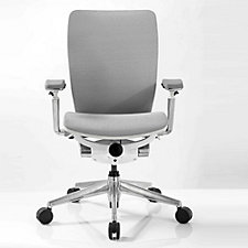 IC2 Mesh Ergonomic Computer Chair with White Shell, CH51327