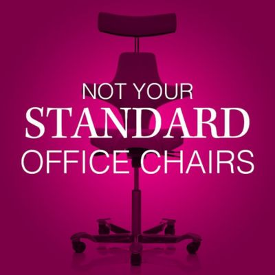 Not Your Standard Office Chairs