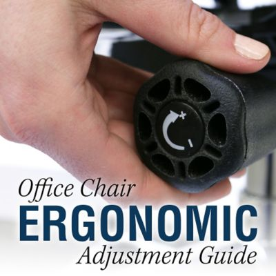 Office Chair Ergonomic Adjustments Guide