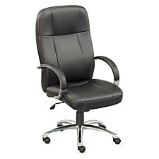 Faux Leather High Back Chair, CH51360