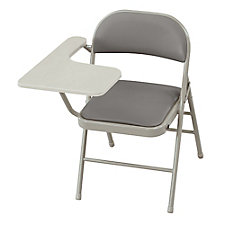 Tablet Arm Steel Folding Chair with Polyurethane Seat and Back, CH51423