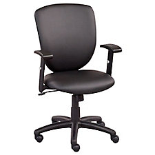Network Faux Leather Task Chair, CH51563