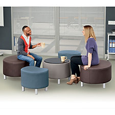 Large Faux Leather Seating Group, CH51569