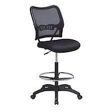 Mesh Back Armless Drafting Stool, CH02925