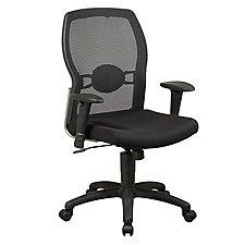 Work Smart Mesh and Fabric Ergonomic Chair, CH02645