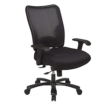 Space Air Grid Mesh Back Big and Tall Ergonomic Chair, 75-37A773
