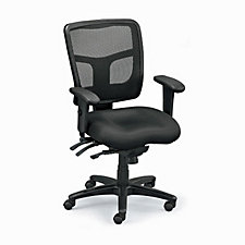 Pro Grid Mesh Mid-Back Ergonomic Chair, CH04756
