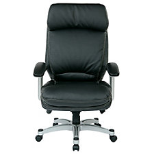 WorkSmart Ergonomic Faux Leather Executive Chair, CH51094