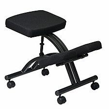 Work Smart Fabric Ergonomic Kneeling Chair, CH04324
