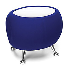 Jupiter End Table in Fabric with Laminate Top, CH51371