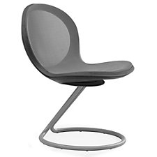 Net Series Armless Chair with Circular Base, CH04861