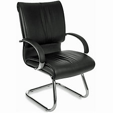 Sharp Leather Guest Chair, CH04943