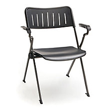 Plastic Nesting and Stacking Chair with Arms, CH51592
