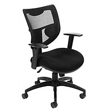 580 Series Mesh and Fabric Mid-Back Ergonomic Chair, CH03605