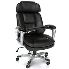 Oro Bonded Leather Tablet Chair with Headrest, CH50797