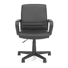 Essentials Mid-Back Vinyl Conference Chair with Square Back, CH50896