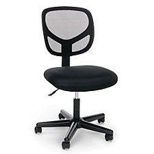 Essentials Mesh Back Simple Armless Task Chair, CH51848