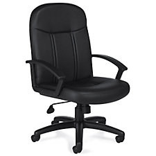 Lucia Bonded Leather Mid-Back Task Chair, CH51106