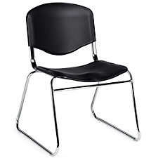 Burleigh Sled Base Plastic Armless Stack Chair, CH51116