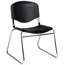 Burleigh Sled Base Plastic Armless Stack Chair, CH51116