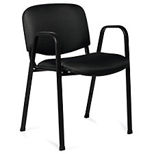 Burleigh Fabric Stack Chair with Arms, CH51117
