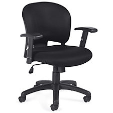 Astor Mesh Fabric Task Chair with Adjustable Arms, CH51125