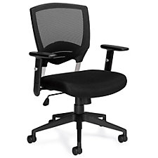 Atwater Mesh Back Task Chair with Titanium Accents, CH51134