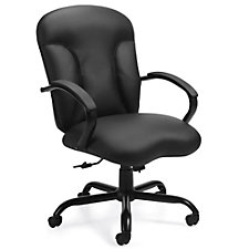 Lucia Smooth Seat Bonded Leather Executive Chair, CH51148