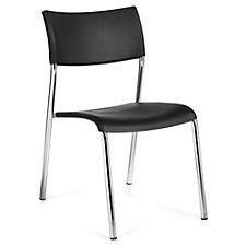 Burleigh Half-Back Armless Plastic Stack Chair , CH51136