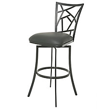 Homestead Faux Leather Counter Height Barstool , CH51427