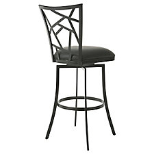 Homestead Faux Leather Bar Height Barstool , CH51435