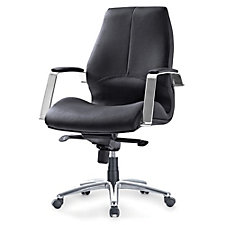 Andrew Faux Leather Padded Midback Chair, CH51061