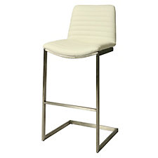 Buxton Vinyl Counter Height Stationary Stool, CH51066