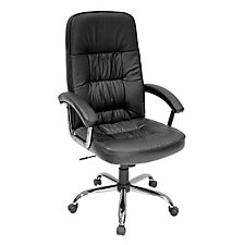 Black Leather Executive Chair, CH04247