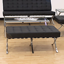 Leather Bench , CH04593
