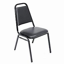 Vinyl Stack Chair, CH04597