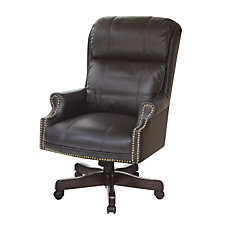 Barrington Traditional Leather Judges Chair, CH04624