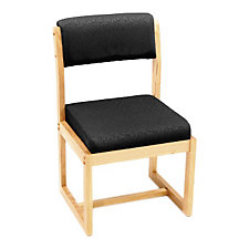Wood Frame Sled Base Guest Chair, CH04289