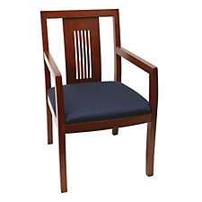 Guest Chair with Wood Back, CH02837
