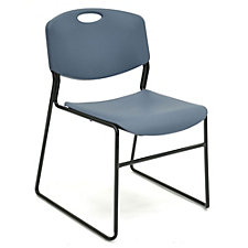 400 lb Weight Capacity Armless Plastic Stack Chair, CH04270