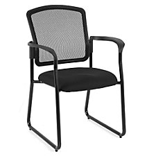 Dakota2 Mesh Back Fabric Sled Base Stack Chair, CH50930