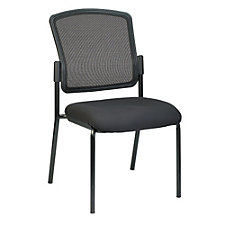Dakota2 Armless Mesh Back Fabric Seat Stack Chair, CH50931