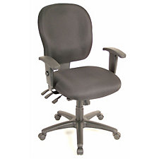 Racer Fabric Mid-Back Ergonomic Chair, CH02895