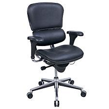 Ergohuman Leather High Back Ergonomic Chair, CH02899